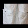 Háromnegyedes vászonnadrág fehér Kanz