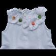 Fehér ruha színes gombokkal iDO