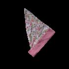 Fejkendő rózsaszín apró mintás
