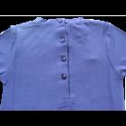 Pulóver csipkés kék - iDO