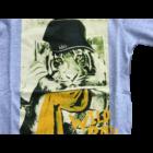Tigrises pulóver szürke - iDO