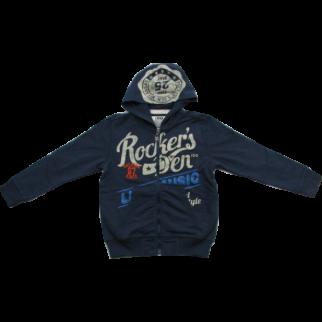 Kapucnis pulóver kék - iDO Dodipetto