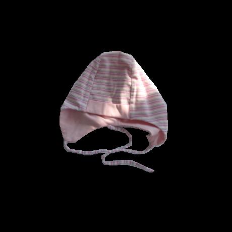 Sterntaler pamut sapka rózsaszín csíkos