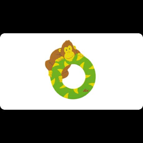 O betű állatos zöld