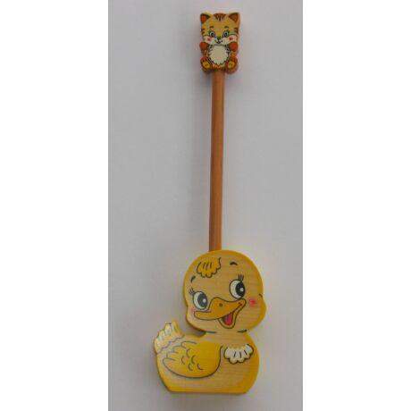 Ceruzatartó ceruzával kacsa - Bartolucci