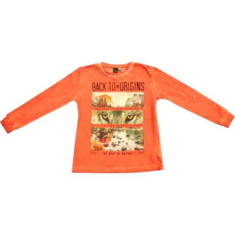 Narancs pulóver farkasos - iDO