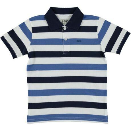 Fiú ingpóló kék - iDO