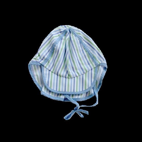 Sterntaler szafari sapka kék csíkos