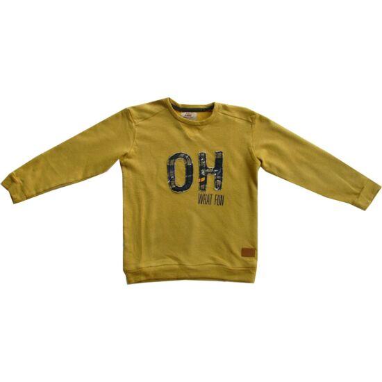Fiú pulóver mustársárga - Kanz