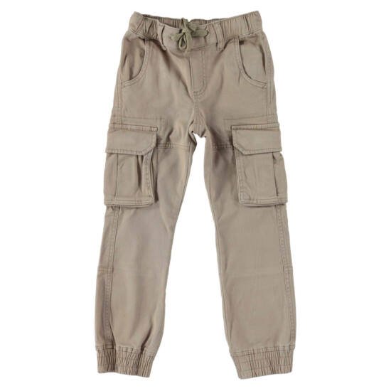 Bélelt zsebes nadrág drapp - iDO