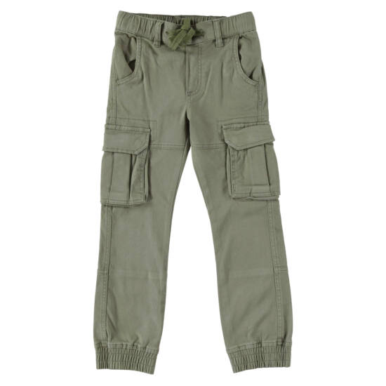 Bélelt zsebes nadrág zöld - iDO