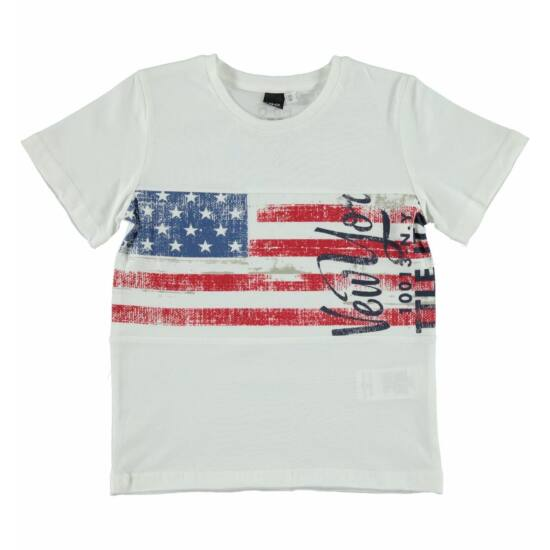 USA póló fehér - iDO