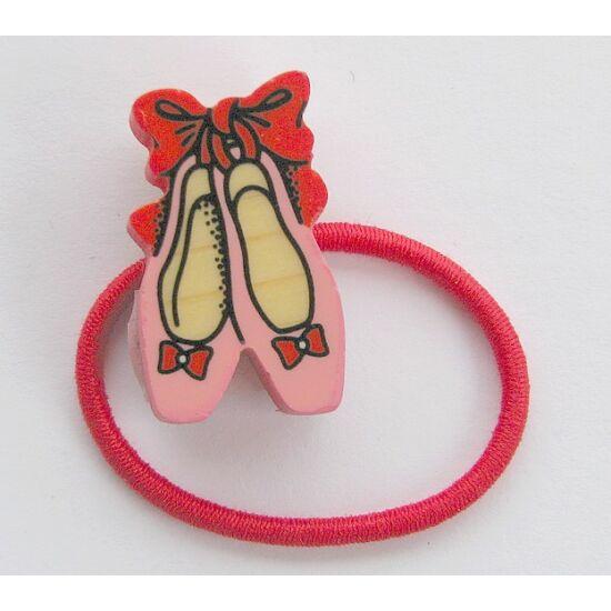 Hajgumi balerina cipők piros - Bartolucci