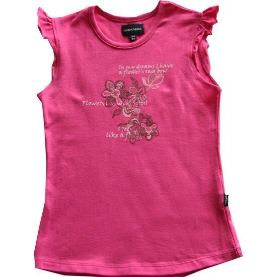 Ujjatlan póló rózsaszín - Kanz