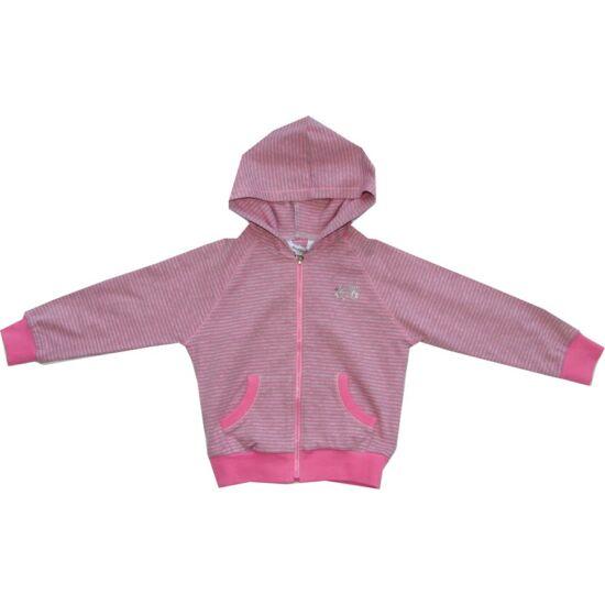 Rózsaszín csíkos pulóver - iDO