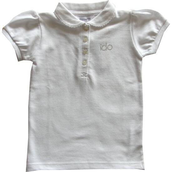 Galléros póló fehér - iDO