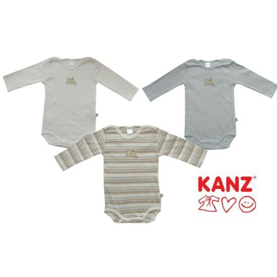 Három darabos body hosszú ujjú kék Kanz