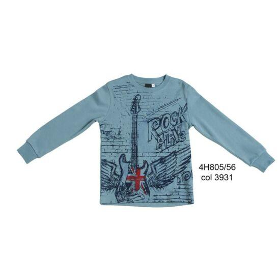 Gitáros pulóver kék - unisex - iDO Dodipetto