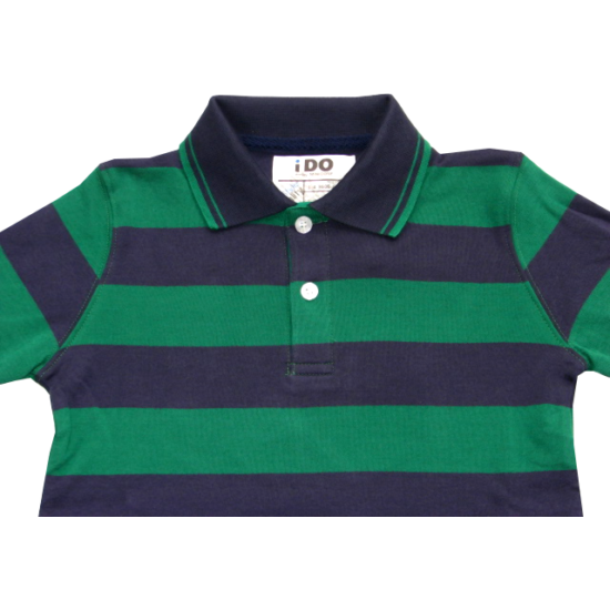 Galléros pulóver zöld-kék - iDO Dodipetto
