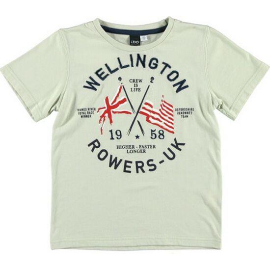 Drapp póló Wellington felirattal iDO