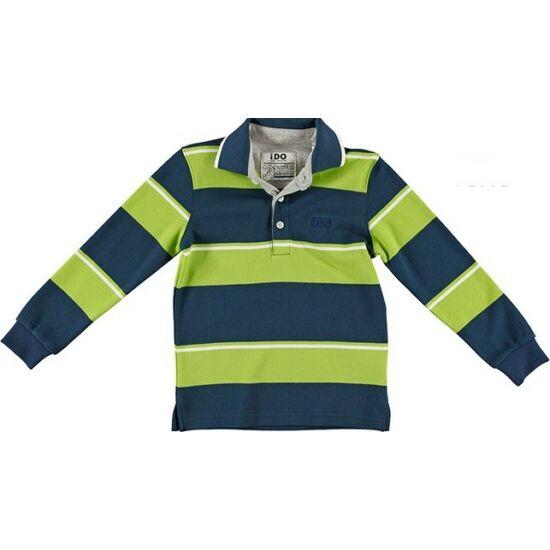Galléros pulóver zöld-kék - iDO