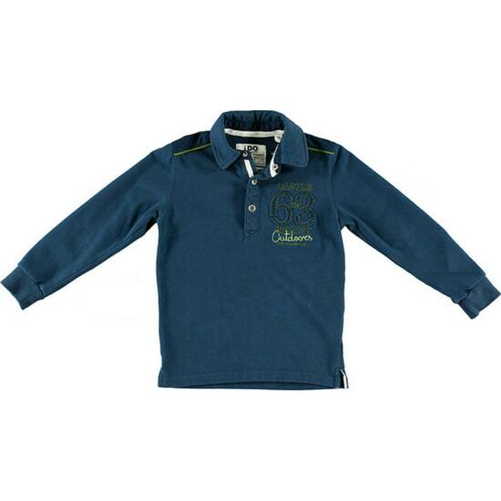 Galléros pulóver kék - iDO