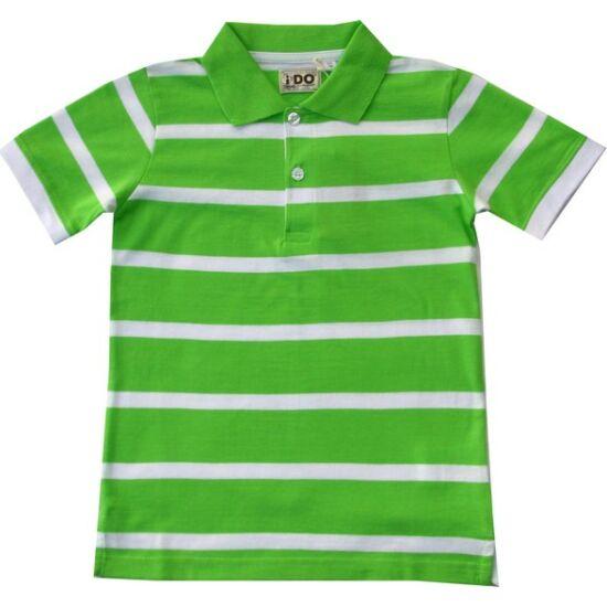 Galléros póló zöld - iDO