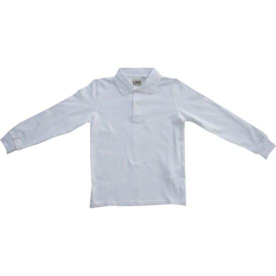 Galléros fehér pulóver - iDO