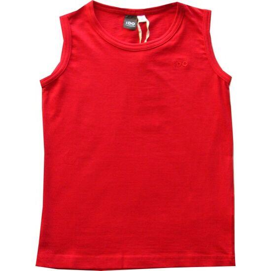 Ujjatlan póló piros - iDO