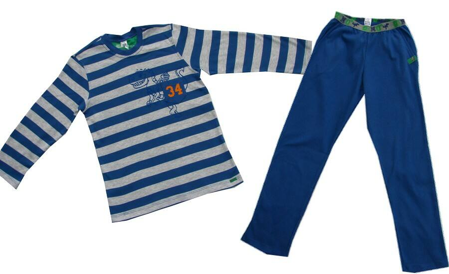Dinós pizsama kék - Kanz 9aa7f594df