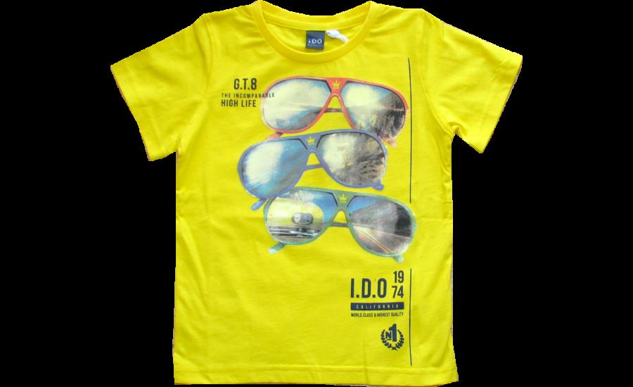 Napszemüveges sárga póló - iDO Dodipetto 70be022db5