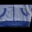 Kék csíkos pulóver lány - iDO
