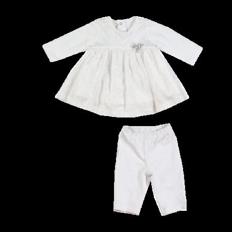 Kétrészes fehér ruha iDO