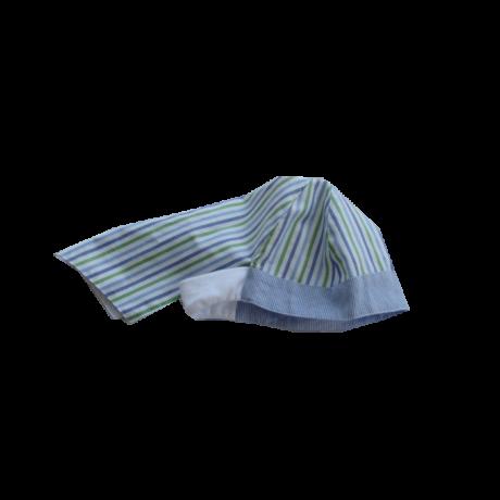 Sterntaler sapka kék csíkos szafari