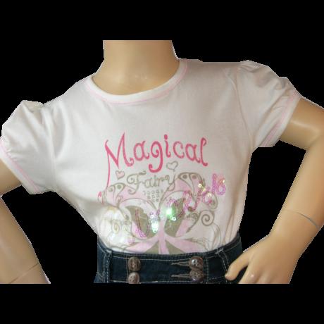 Póló Magical felirattal Kanz