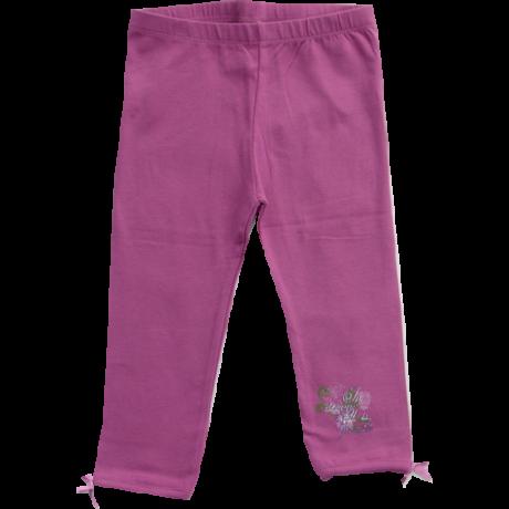 Háromnegyedes leggings lila Kanz