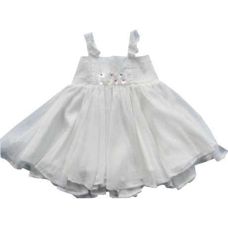 Nyári ruha fehér - iDO