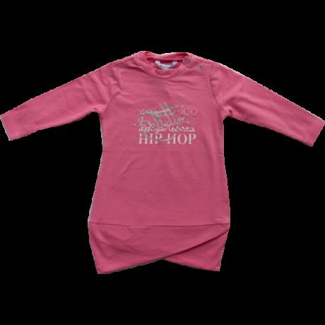 Rózsaszín pulóver hosszított fazon iDO Dodipetto