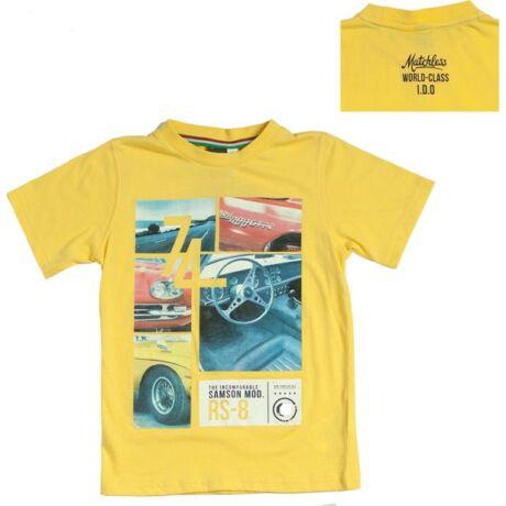 Sárga autós póló - iDO Dodipetto