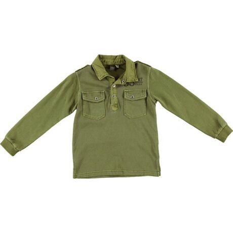 Galléros pulóver zöld - iDO