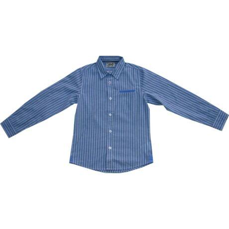 Fiú ing kék csíkos - iDO