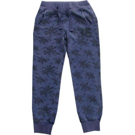 Szabadidőnadrág pálmafás kék - iDO